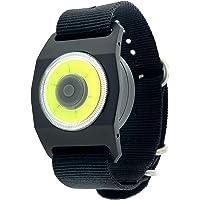 Densidad de Agua Linterna LED Seguridad Cuello Luz de Clip On magn/ético Ropa o Mochila para Running Night Ndier LED Manos Libres Luz Senderismo y Camping. Senderismo