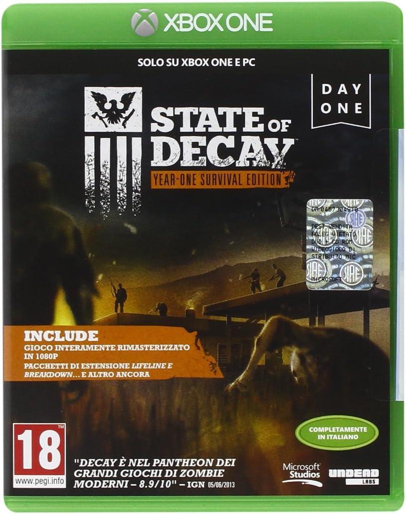 State Of Decay: Year-One Survival Edition [Importación Italiana ...