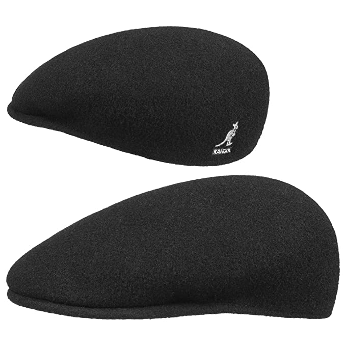 Kangol Original flat capivy hat (XXL 62-63 - negro)  Amazon.es  Ropa ... abd6fbbd036