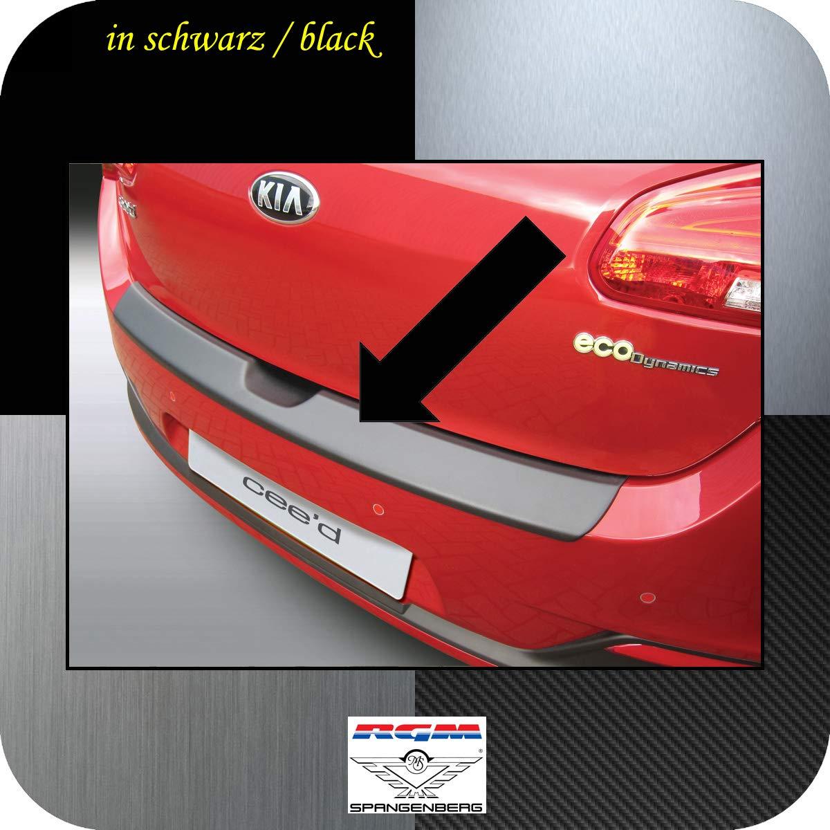 JD Hatchback de 5/Puertas a Partir de a/ño 06.2012/Ceed rbp746 Richard Grant Mouldings Ltd Original RGM ladekant Protecci/ón Negro para Kia CEE d II