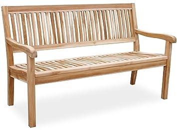 KMHR Teak 3 Sitzer Gartenbank Lea 150 Cm 102147