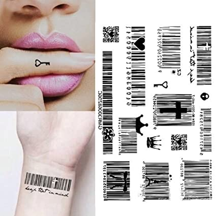 dfly Waterproof Temporary Tattoo Sticker adhesivo de surf código ...