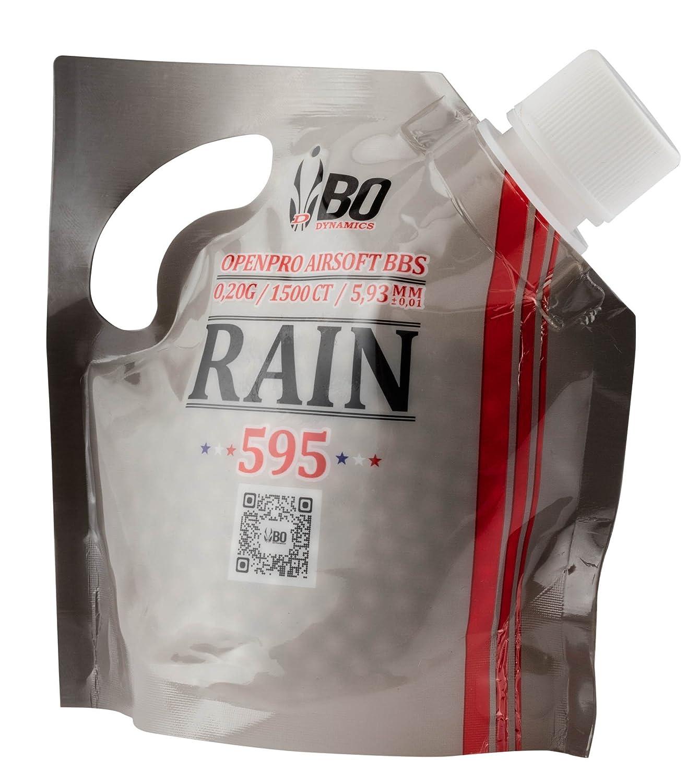 Billes airsoft BO RAIN 0.20 g Sachet 1500 BO Manufacture