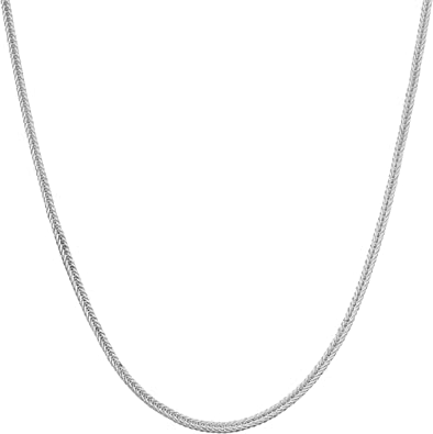 14, 16, 18, 20, 22, 24, 30 or 36 inch Kooljewelry Sterling Silver 1.5 mm Open Cable Chain Necklace