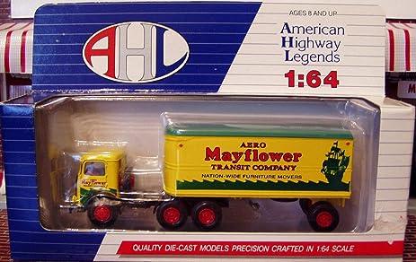 Amazon Com Hartoy 52102 Mack Cj Aero Mayflower Semi Truck 1 64