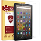 [2 Pack] OMOTON Screen Protector for All-New Amazon Fire HD 10/Fire HD 10 Plus/Fire HD 10 Kids/Fire HD 10 Kids Pro Tablet 10.