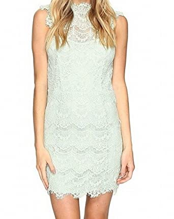 6dcdc7a19665 Free People Intimately Womens Daydream Lace Open Back Party Dress at ...