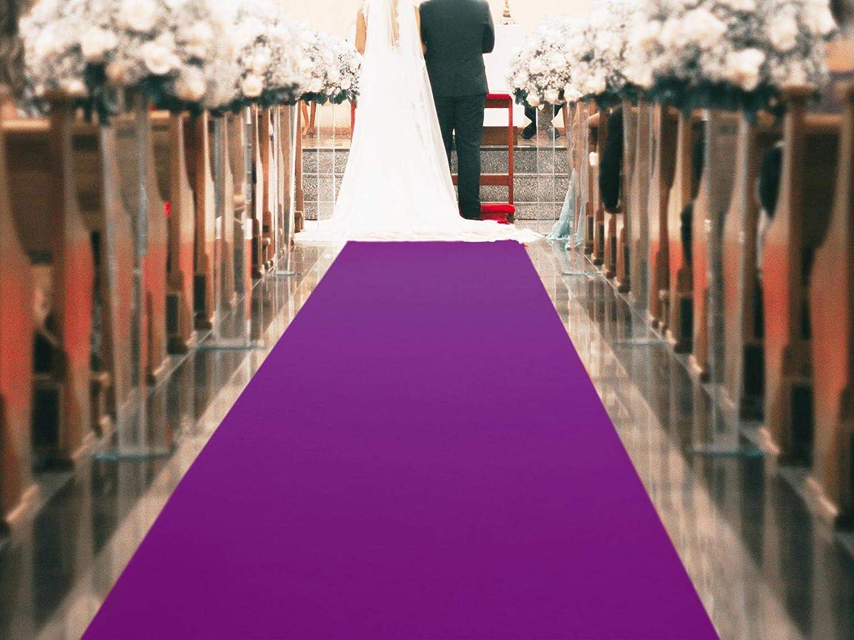 Hochzeitsteppich Eventteppich PODIUM Gangl/äufer Messeteppich VIP Teppich 1,00m x 1,00m Hochzeitsl/äufer Magenta Lila