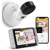 Kodak Kodak C520 WiFi Video Baby Monitor with Above-The-Crib View, Parent Unit for Constant Monitoring and Phone App for…