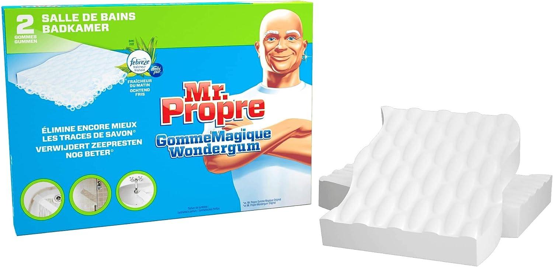 Mr. Propre Gomme Magique Salle De Bains Nettoie Comme Par Magie 20