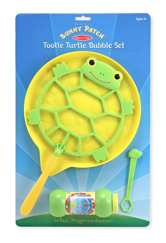 Warning turtles amp tortoises inc - Amazon Com Melissa Doug Sunny Patch Tootle Turtle Bubble Blowing Set With Oversized Wand Melissa Doug Toys Games