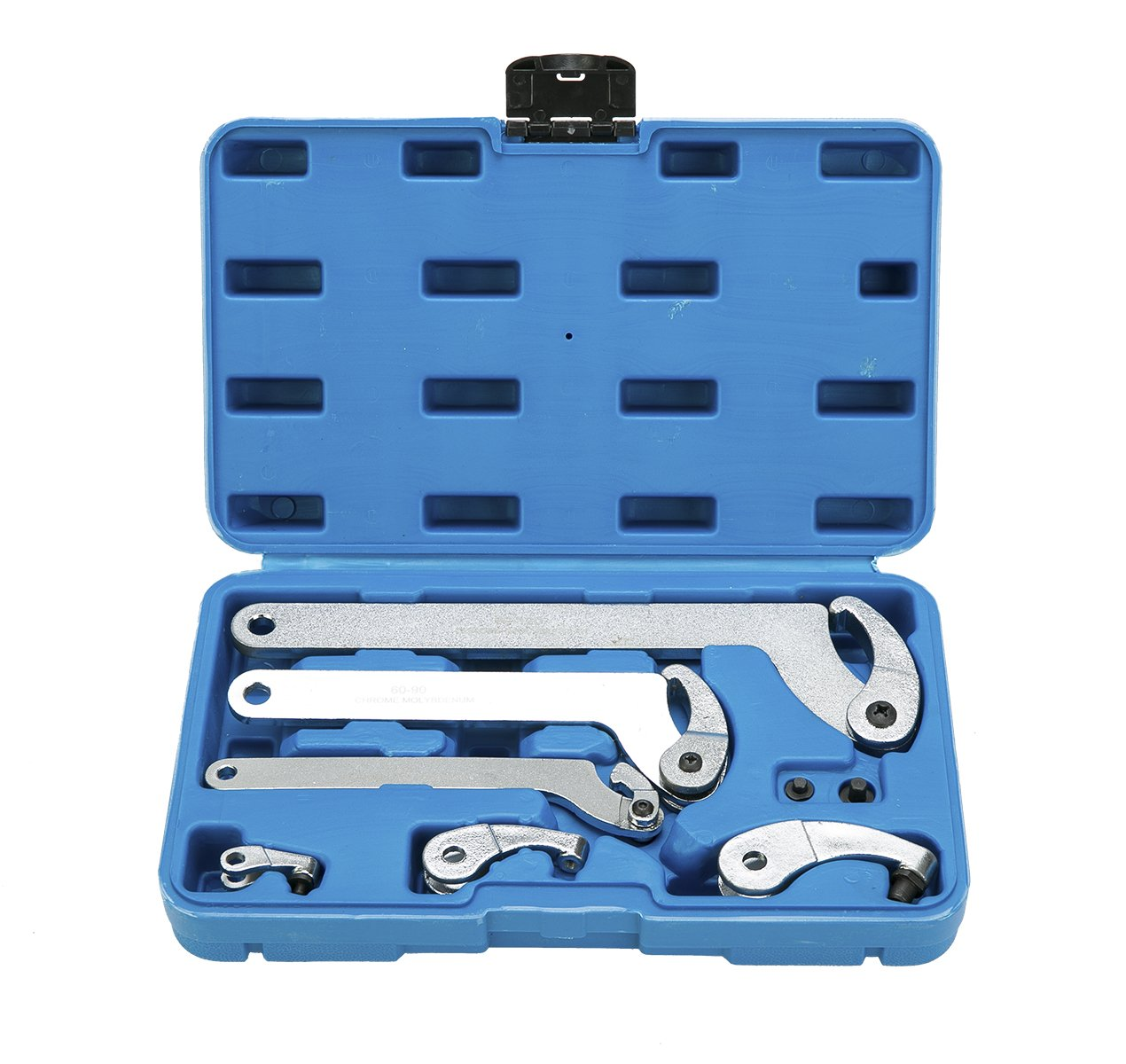 8milelake Adjustable Hook And Pin Wrench / Spanner Tool Set