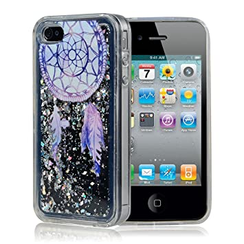 coque pour iphone 4 paillette