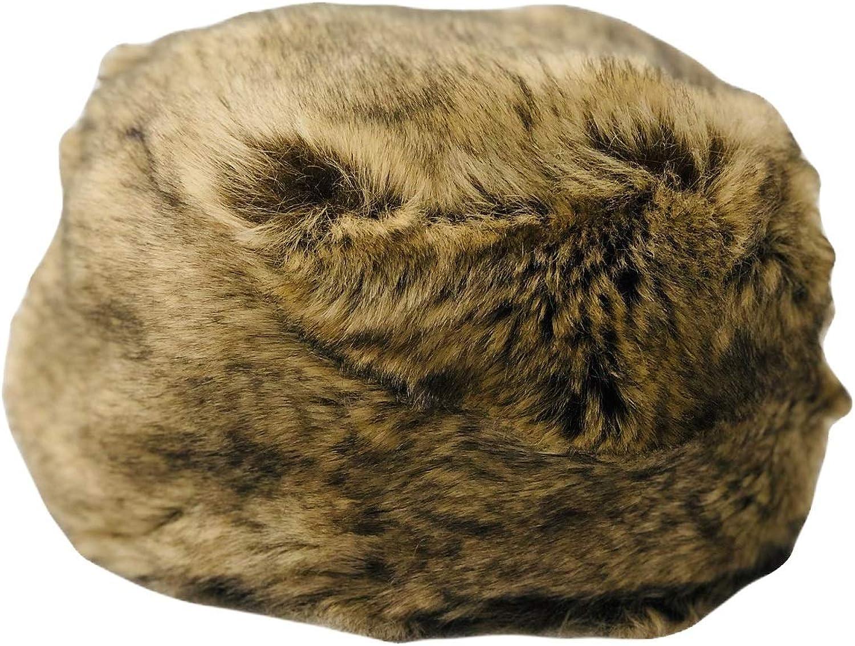 Scattee Womens Cossack Faux Fur Hat Fawn