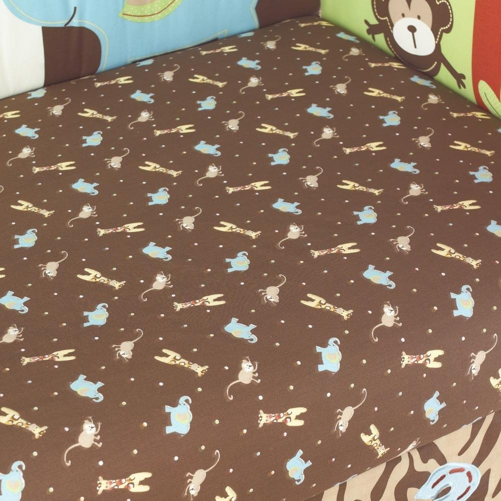 Zoo Zoo Fitted Sheet by Too Good by Jenny