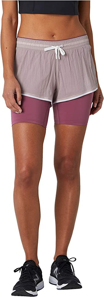 new balance running shorts women