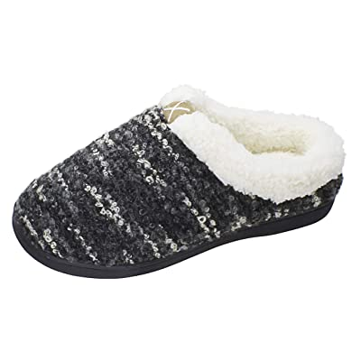 Slippers for Women Men Cozy Memory Foam Wool-Like Plush Fleece House Shoes Furry Indoor Outdoor | Slippers