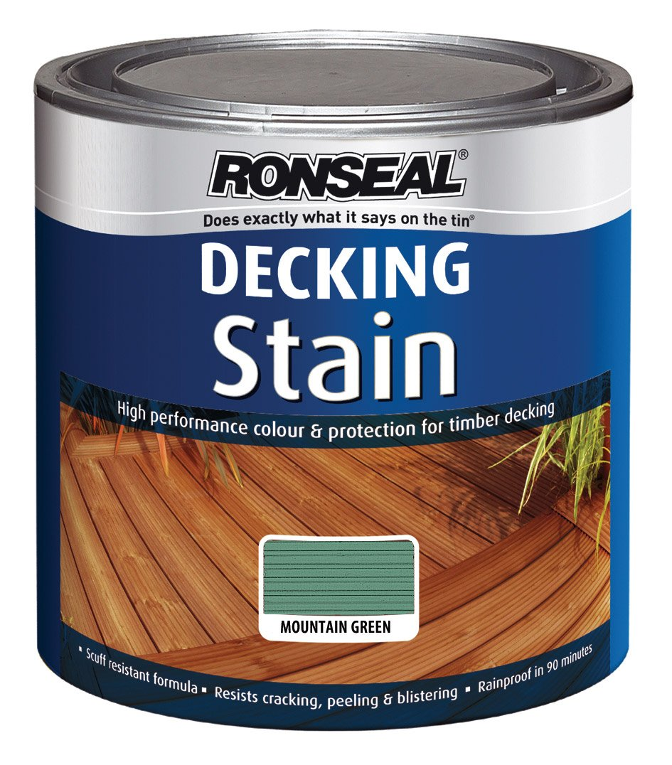 Ronseal dsmg25l 25l decking stain mountain green amazon ronseal dsmg25l 25l decking stain mountain green amazon diy tools baanklon Image collections