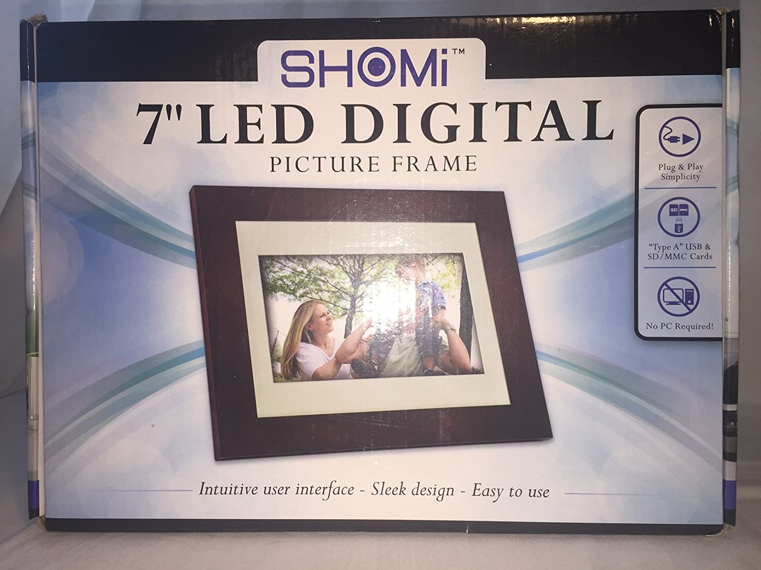 Shomi 7 Led Digital Picture Frame Amazonca Electronics