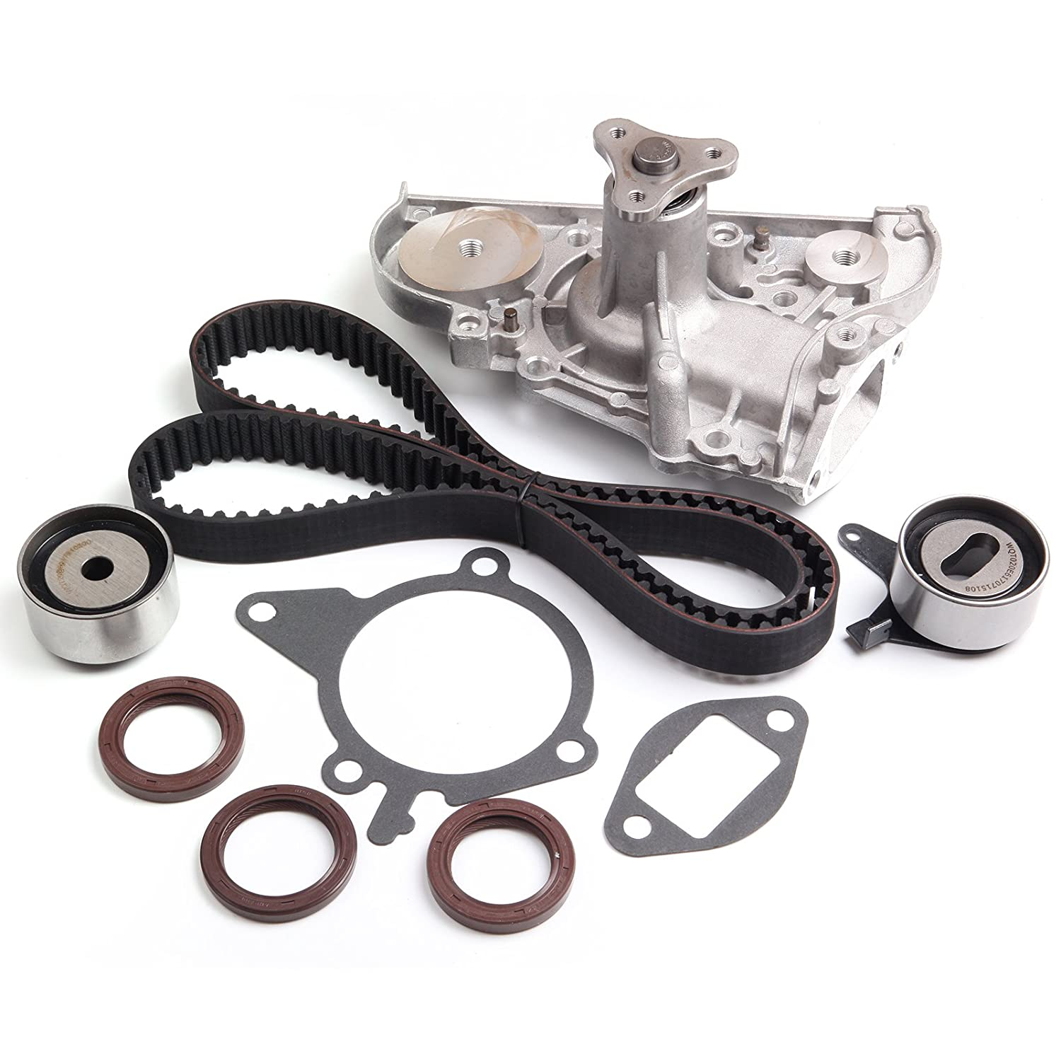 SCITOO Timing Belt/Water Pump fit 90-93 Mazda Miata 1.6L 91-96 Ford Escort 1.8L L4 110303-5206-1530181