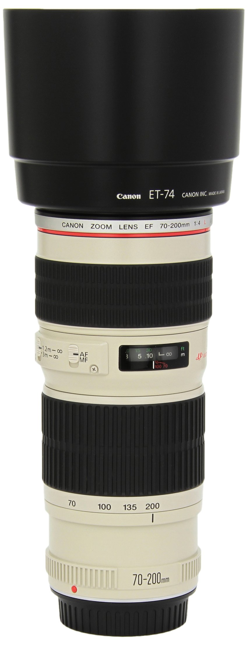 Canon EF 70-200mm f/4L USM Telephoto Zoom Lens for Canon SLR Cameras by Canon