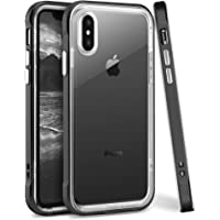 Ansiwee Slim TPU Bumper Hybrid Case for Apple iPhone X
