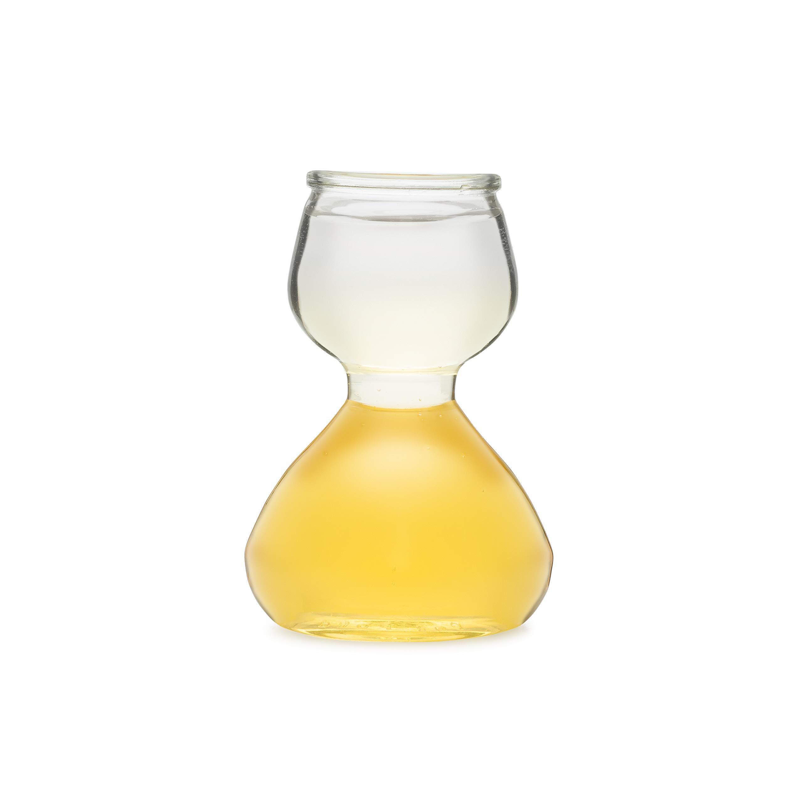 Quaffer Double-Bubble Shot Glass, Plastic (Case of 12)
