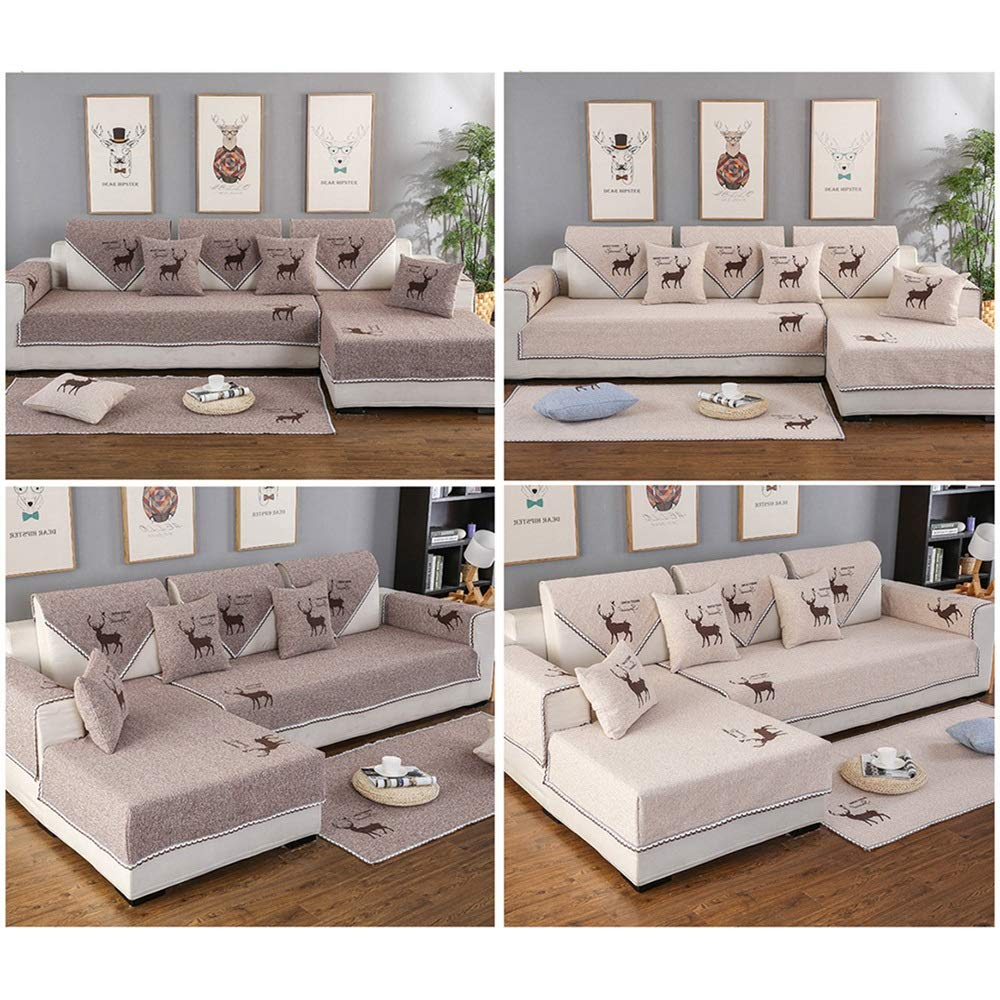 Amazon.com: ALGWXQ Cool Combination Sofa Cushion, Non-Slip ...