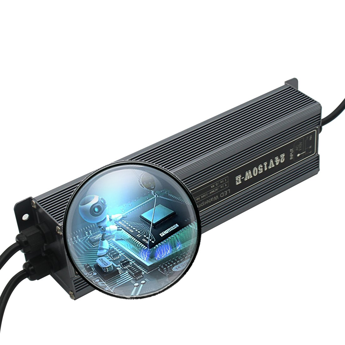 Waterproof IP67 LED Power Supply Driver 100W - DC12V