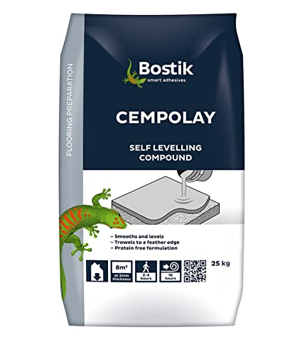 Bostik 30812514 25 kg Cempolay Self Levelling Compound - Grey