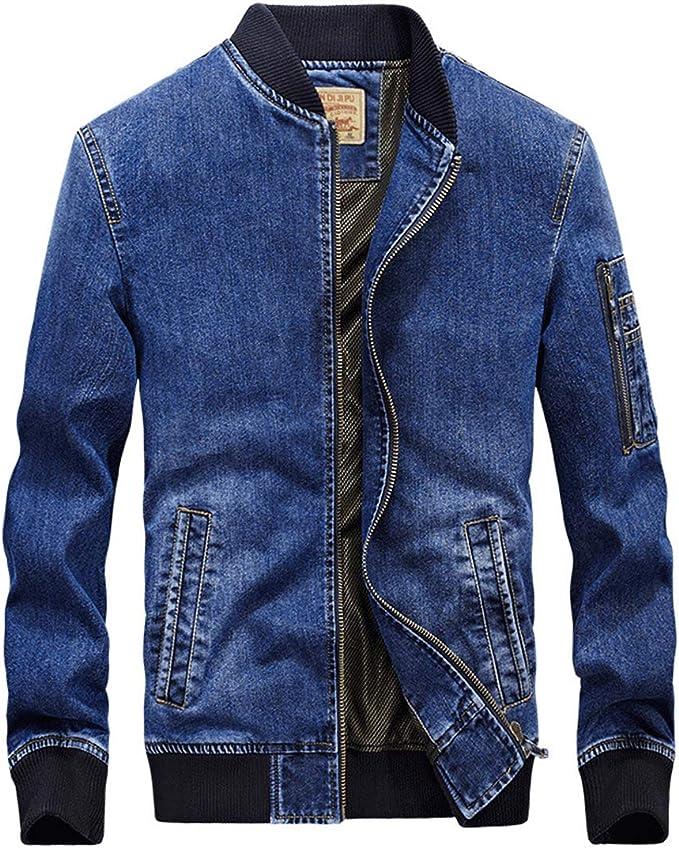 D.IIZOO デニム ジャケット メンズ ブルゾン 綿 ジージャン Gジャン 春秋 アウター カジュアル ファッション