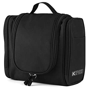 KIPOZI Hanging Toiletry Bag Travel Toiletry Kit for Men Women Toiletries  cosmetics Rugged   Water Resistant. Amazon com   KIPOZI Hanging Toiletry Bag Travel Toiletry Kit for