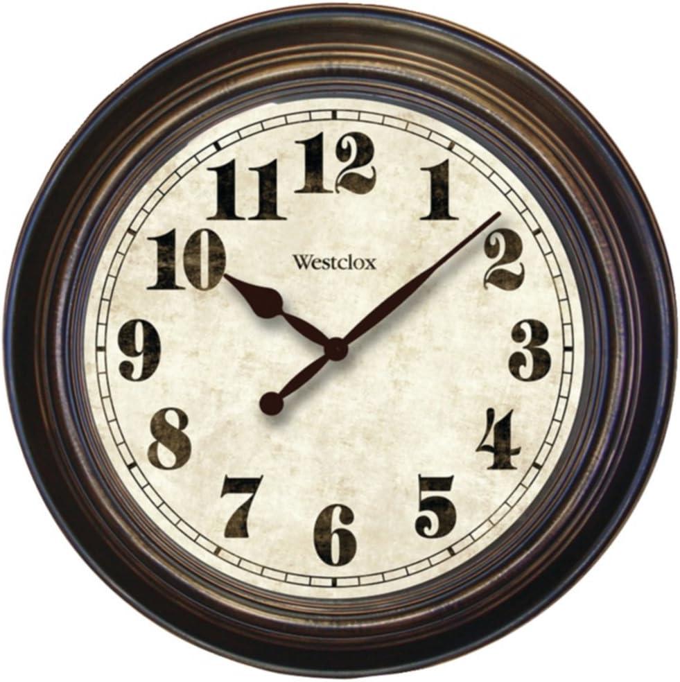 Westclox 32213 Oversized Classic Wall Clock 24 Round Home & Garden Improvement