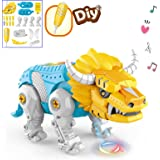 amdohai DIY Electronic Bull Robot OX Building Toys for Boys Age 3 4 5 6 7 8 Year Old Girls, Gifts Idea for Kids