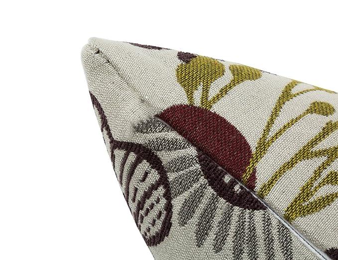 Amazon.com: andeworld Lino y Algodón cojines decorativos ...