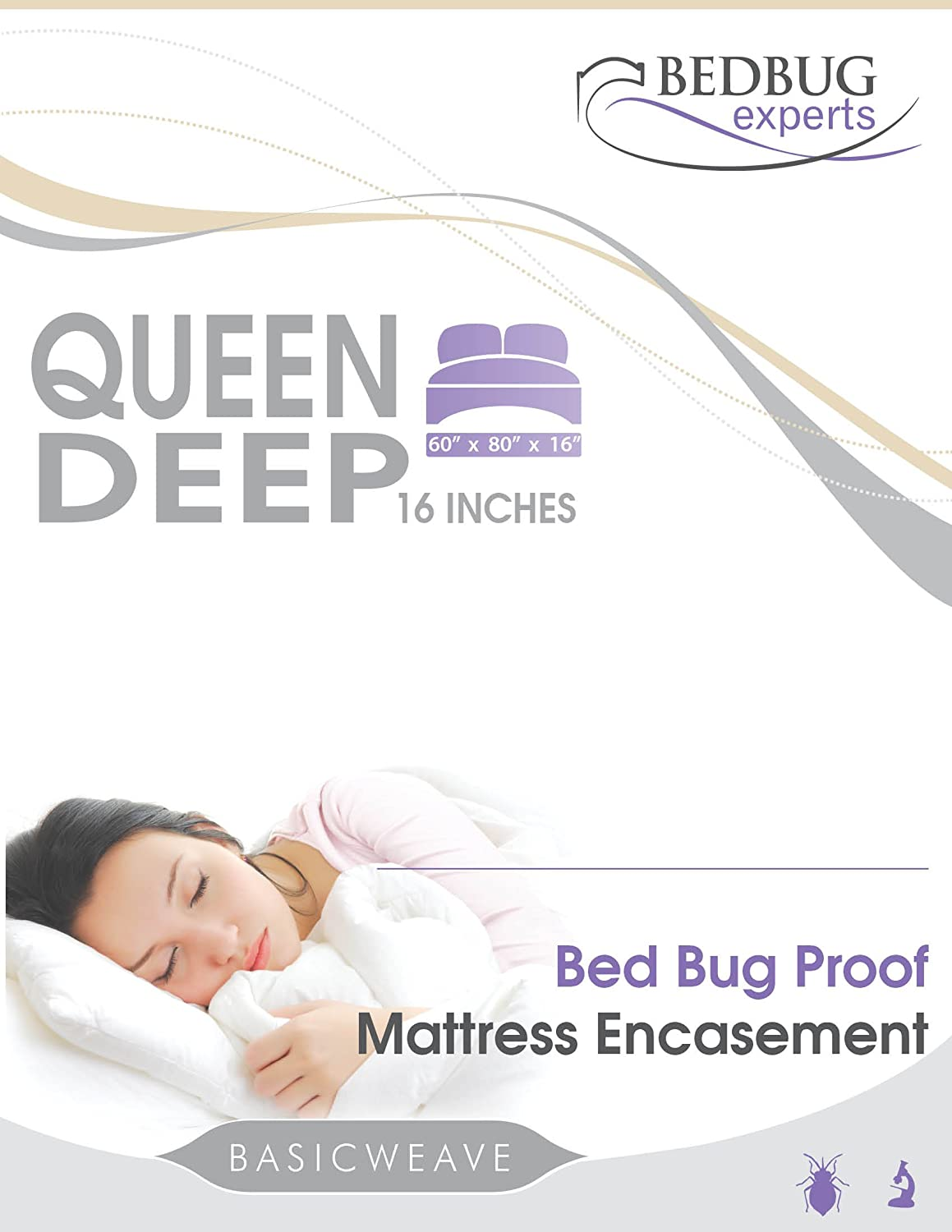 Baby proof queen bed - Amazon Com Bed De Bug Mattress Or Box Spring Encasment Twin Xl Size 39 X 80 X 9 Home Kitchen