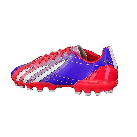 size 40 3189d 383db adidas Bota Jr F10 TRX AG Messi Turbo-Purple Amazon.es Zapatos y  complementos