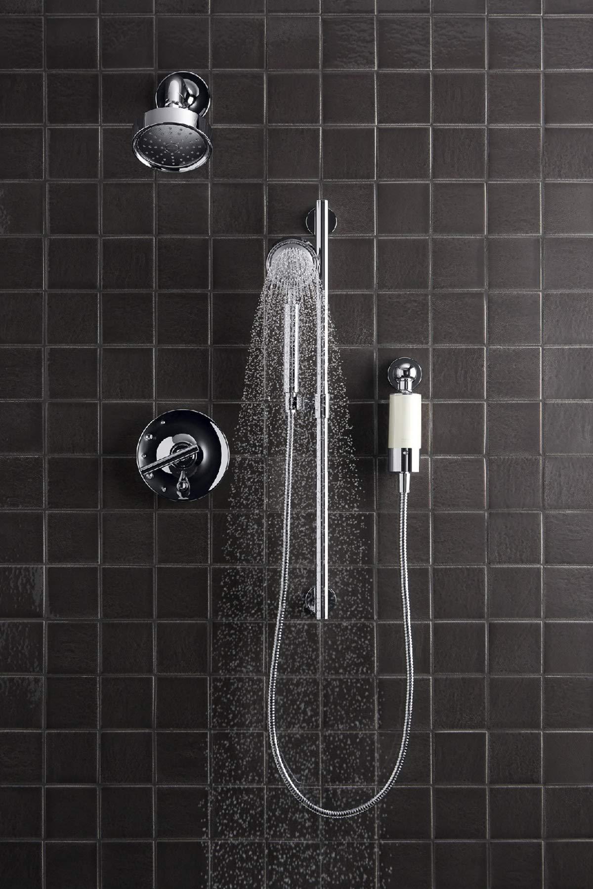 Kohler 30646-CP Aquifer Shower Water Filtration System, Reduce Chlorine and Odor, Includes Filter Replacement by Kohler (Image #8)