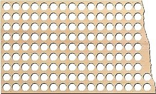 product image for North Dakota Beer Cap Map - 23x13.9 inches - 137 caps - Beer Cap Holder North Dakota - Birch Plywood
