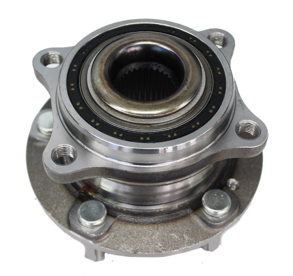 Detroit Axle Front Driver Left or Passenger Right Side Wheel Hub and Bearing Assembly for 2006-2012 Rav4 w//2.4L or 2.5L Only
