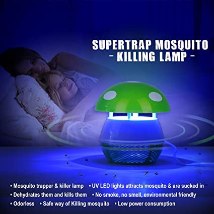 VDNSI Mosquito Killer - 100% Natural & Instant Protection Against Deadly Mosquitos and Other Flying Insects(Upgrade Model) - Mulit Colour