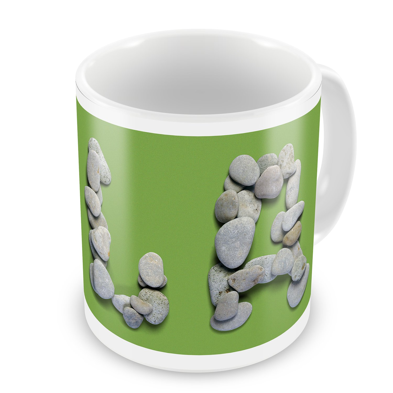 Coffee Mug LA Spa Stones - NEONBLOND