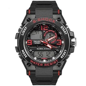 Blisfille Reloj Oro Rosa Reloj Resistente Al Agua Mujer Relojes Originales Reloj Digital Ultrafino Reloj con