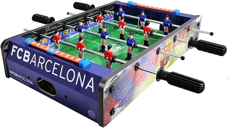 FC Barcelona Official - Futbolín de mesa (Talla Única) (Rojo/Azul): Amazon.es: Ropa y accesorios
