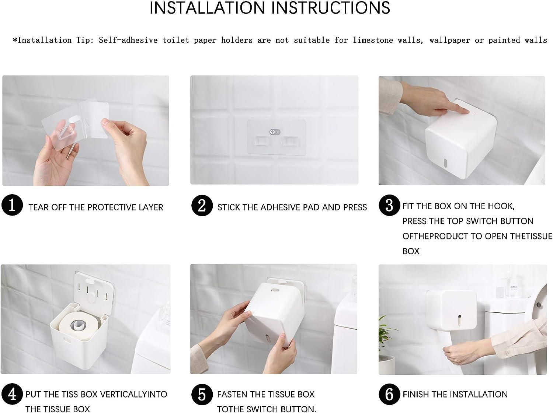 Small cocina Portarrollos de papel higi/énico para ba/ño