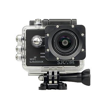 mobilegear SJCAM SJ5000 X Elite with Gyro Anti Shake 4K HD Waterproof Digital Action Camera with Accessories  Black  Action Cameras