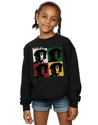 Bob Marley niñas Colour Blocks Camisa De Entrenamiento: Amazon.es: Ropa y accesorios