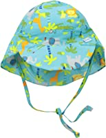 i play. Baby & Toddler Boys' Flap Sun Protection Print Hat