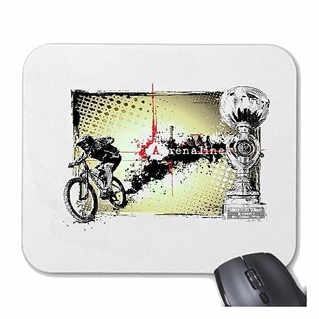 Mousepad alfombrilla de ratón MOUNTAIN BIKE ADRENALINE BTT reparación de la bicicleta de ciclo del paseo