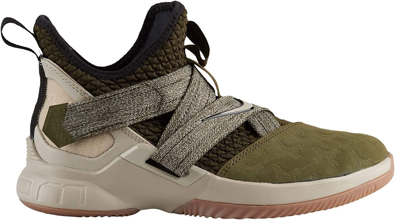 Nike Kids Grade School Lebron Soldier XII Basketball Shoes